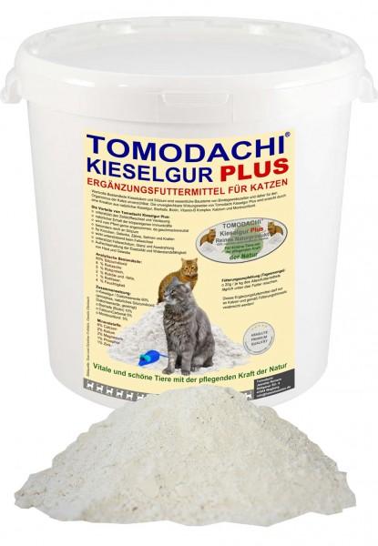 Kieselerde+Biotin für Katzen, reich an Silizium, Vitamin B, Aminosäuren, Futterzusatz 1L