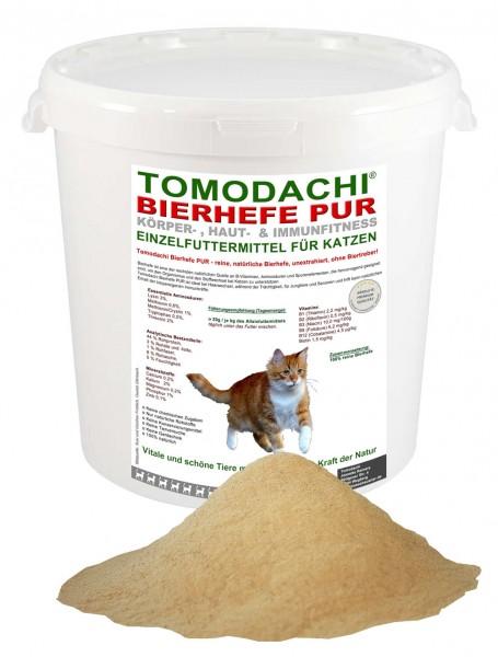 100% reine Bierhefe Katze und Hund, Bierhefe für Haut, Fell und Krallen, Bierhefe pur 3kg