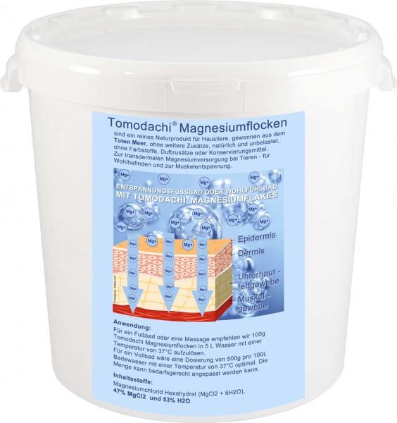 Magnesiumflocken, Totes Meer Salz, Tomodachi Magnesiumflakes, Badesalz, Haustierentspannung, 2kg