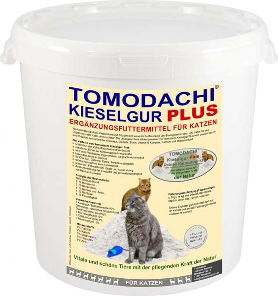 Kieselerde Katze, Silizium plus Biotin, Spurenelemente, Haut, Fell, Krallen, Verdauung 10L