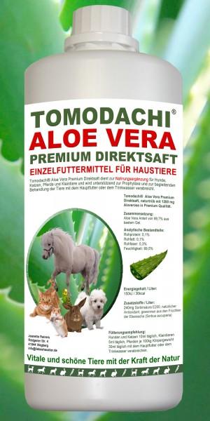 AloeVera Katze, Immunsystem, Verdauung, Stoffwechsel, Premium Direktsaft, Nahrungsergänzung 1L