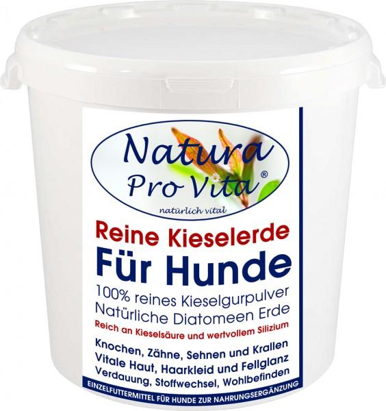 Kieselerde, reine Kieselgur für Hunde, BARFen, Haut, Fell, Krallen, Knochen, Verdauung 500g