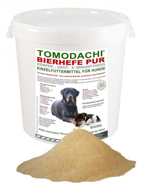 Reine Bierhefe für Hund u. Katze, Bierhefe für Haut, Fell und Krallen, Bierhefe pur 1kg