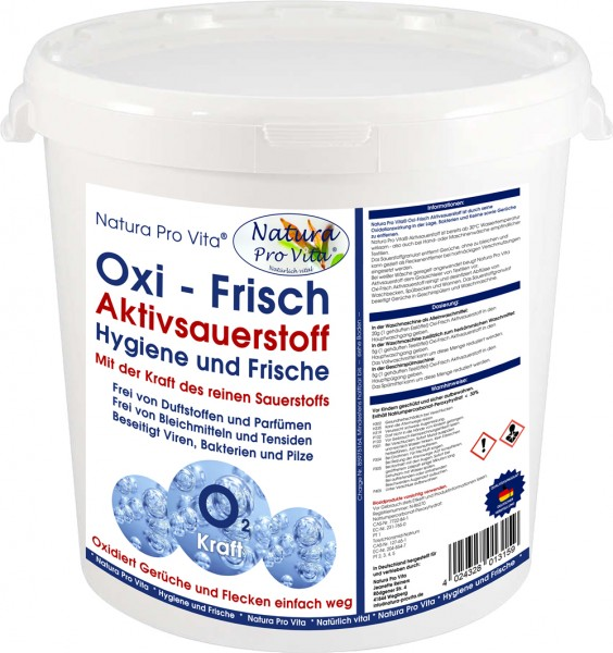 Aktivsauerstoff parfümfrei, Allergiker, Babywäsche, Haustierwäsche, Hygiene mit AktivSauerstoff 2kg