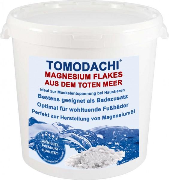 Totes Meer Salz, Tomodachi Magnesiumflakes, Magnesiumflocken, Badesalz, Haustierentspannung 3kg