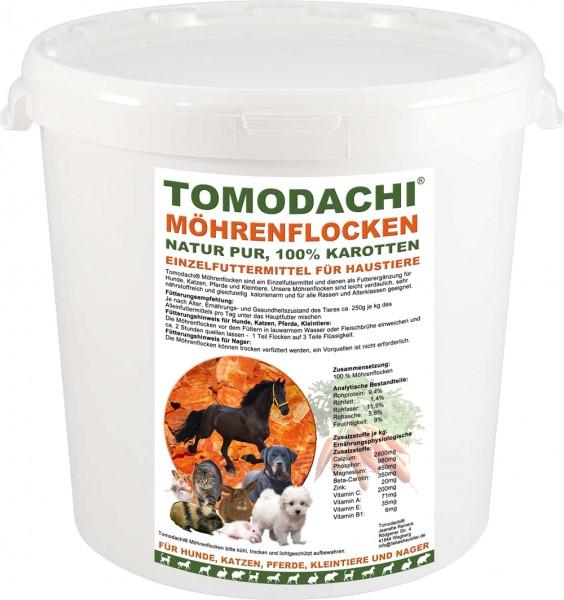 Möhrenflocken, Karotten Hund, BARF Gemüse Verdauung, Stoffwechsel, Immunsystem 3kg