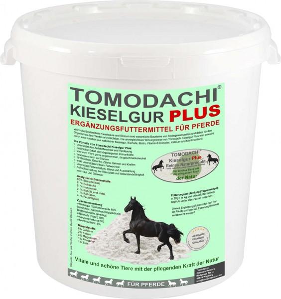 Kieselerde Plus Biotin Pferd, Silizium, Calzium, Biotin, Futterzusatz, Haut, Huf, Fell, 10L