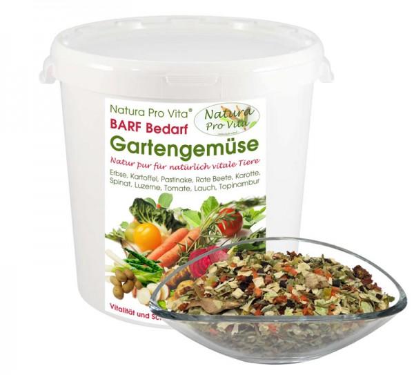 Barf Gemüse für Hund und Katze natürlich gesund beliebt Natura ProVita Barfbedarf Gartengemüse 500g