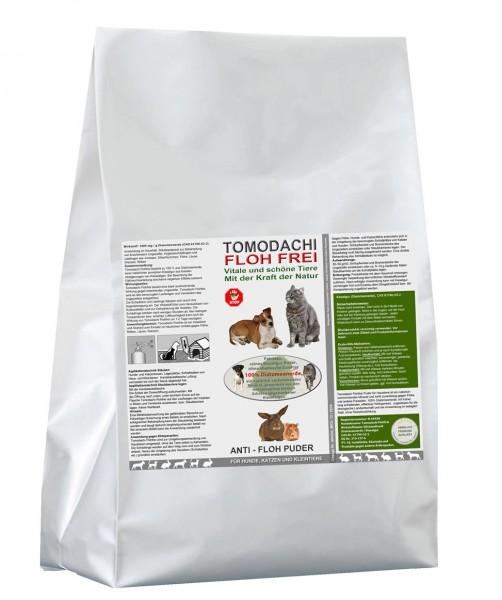 Flohmittel, Anti-Floh Puder, Flohpulver für Hunde, Katzen, Kieselgur, Kieselerde 1kg Sack