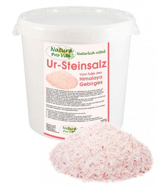 UrSteinsalz, Himalajasalz, NaturaProVita UrSalz, unraffiniert, rosa Steinsalz, natürlich, rein, 3kg