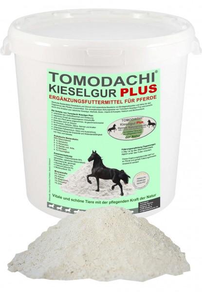 Kieselerde+Biotin Pferd,Silizium, Calzium, Biotin für Haut, Fell, Knochen, Zähne, Verdauung 1L
