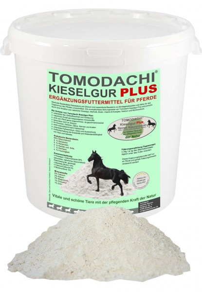 Silizium + Biotin Pferd, Futterzusatz, Kieselerde, Naturprodukt, Stoffwechsel, Haut, Fell, 2L