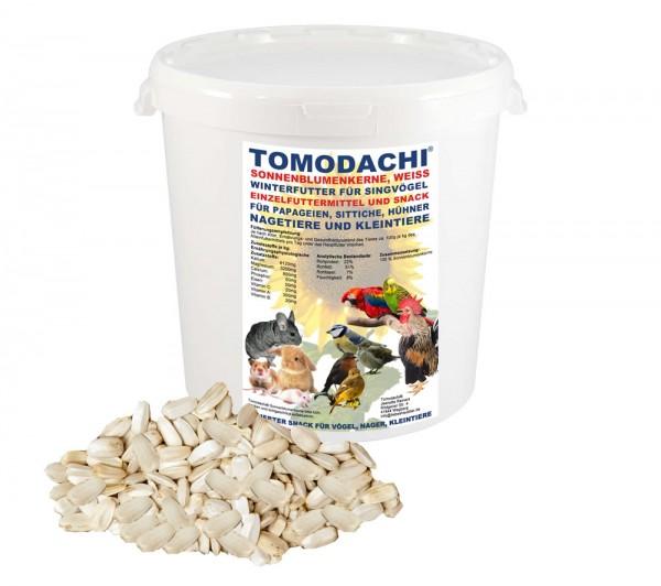 Hühnerfutter, Sittichfutter, Papageienfutter, Sonnenblumenkerne weiß, Leckerei, Hühnersnack 2kg