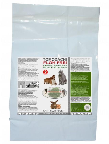 Flohmittel, Anti-Floh Puder, Flohpulver für Hunde, Katzen, Kieselgur, Kieselerde 2kg Sack