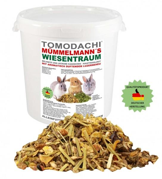 Kaninchenfutter, Raufutter Hase, Luzerneheu, Kräuter, Löwenzahn, Gemüse, Mümmelmanns Wiesentraum 2kg