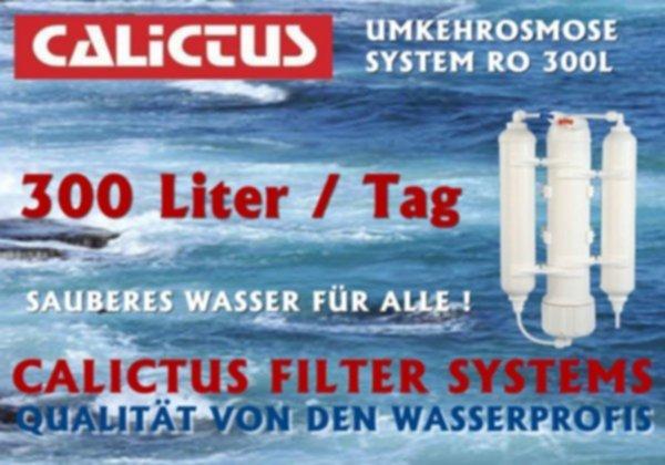 Osmoseanlage, mineralarmes, vitalisierendes Osmosewasser selbst machen, 300L / Tag