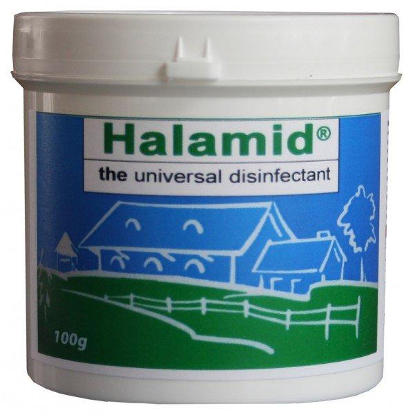 Halamid / Chloramin-T gegen Bakterien, Viren, Pilze und Giardien, 100g Dose