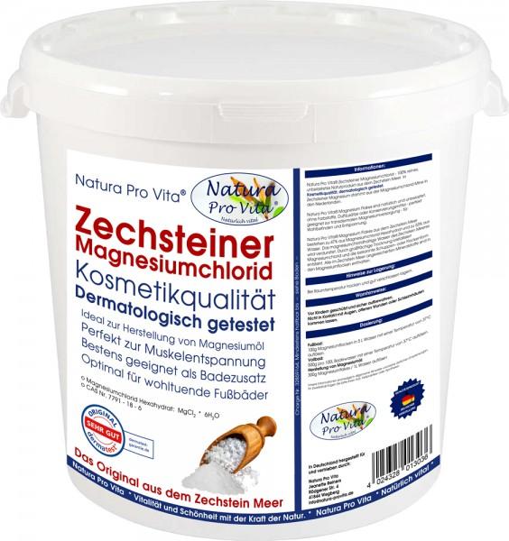 Zechsteiner Magnesium dermatologisch getestet, Wellness, gut für Gesundheit von Mensch und Tier 5kg
