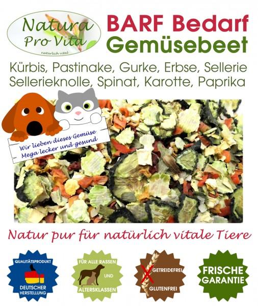 BarfGemüse Gemüsemischung für Katze + Hund NaturaProVita Barfbedarf Gemüsebeet natürlich gesund 500g