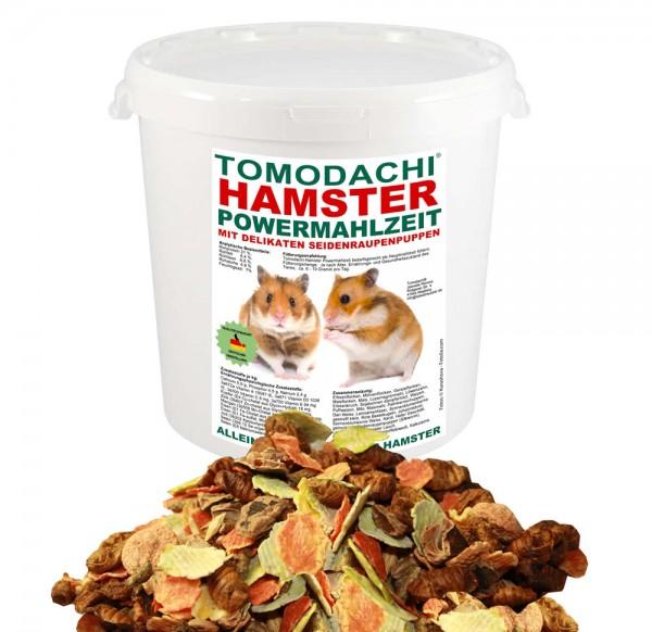Hamsterfutter mit Seidenraupen, Tomodachi Hamster Powermahlzeit Alleinfutter 2kg