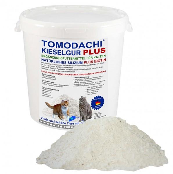 Kieselerde Plus Biotin für Katzen natürlicher BARF Futterzusatz Silizium Biotin Mineralien 500ml