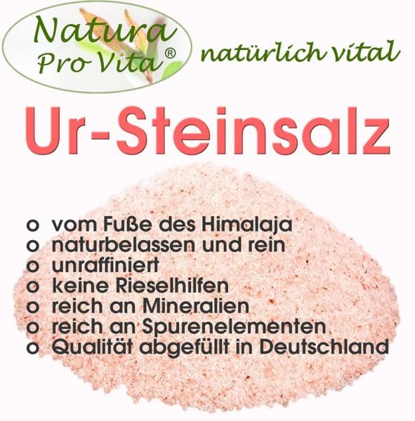 Himalajasalz, UrSteinsalz, Natura Pro Vita UrSalz, natürlich, rein, unraffiniert, rosa Steinsalz 2kg