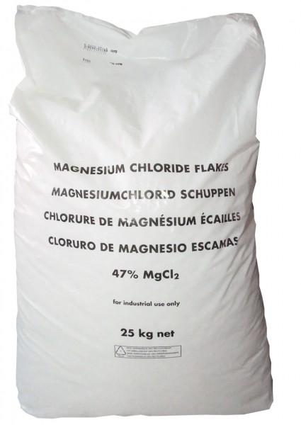 Magnesiumchlorid Magnesiumflakes - Frostschutz Winterschutz für Reitanlagen, Reithallen 25kg Sack
