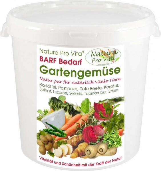 Barfgemüse Hund + Katze natürliche leckere Gemüsemischung Natura ProVita Barfbedarf GartenGemüse 2kg