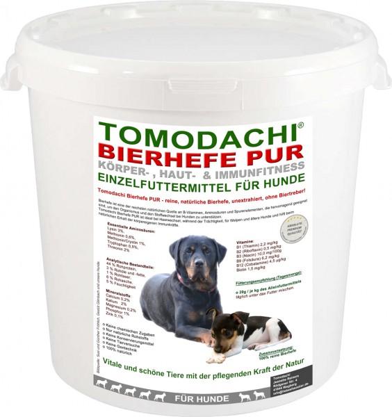100% reine Bierhefe Hund u. Katze, Bierhefe für Haut, Fell und Krallen, Bierhefe pur 2kg