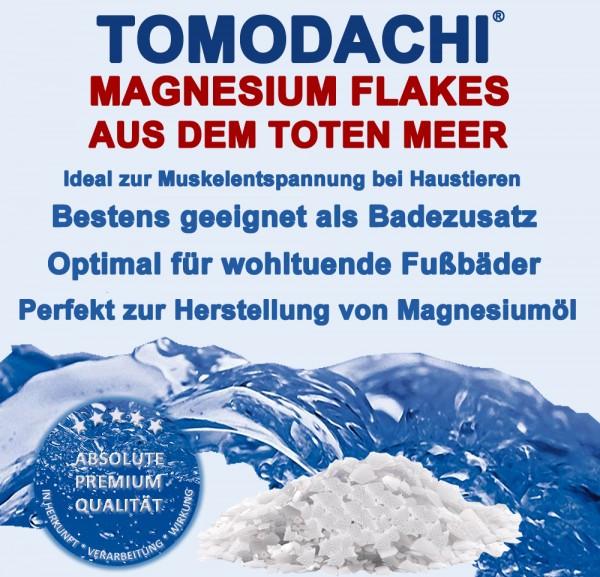 Totes Meer Salz, Magnesiumflocken, Tomodachi Magnesiumflakes, Badesalz, Haustierentspannung 15kg