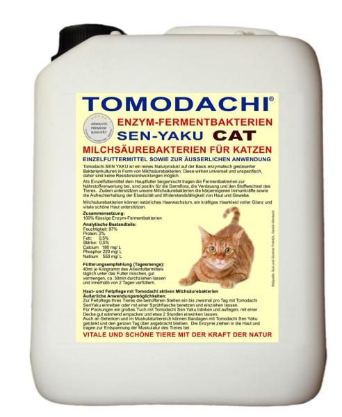 Milchsäurebakterien Katze - Stoffwechsel, Verdauung, Immunsystem, Haut und Fell 5L