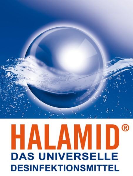 Halamid/ Chloramin-T gegen Bakterien, Viren, Pilze und Giardien, 2kg Eimer