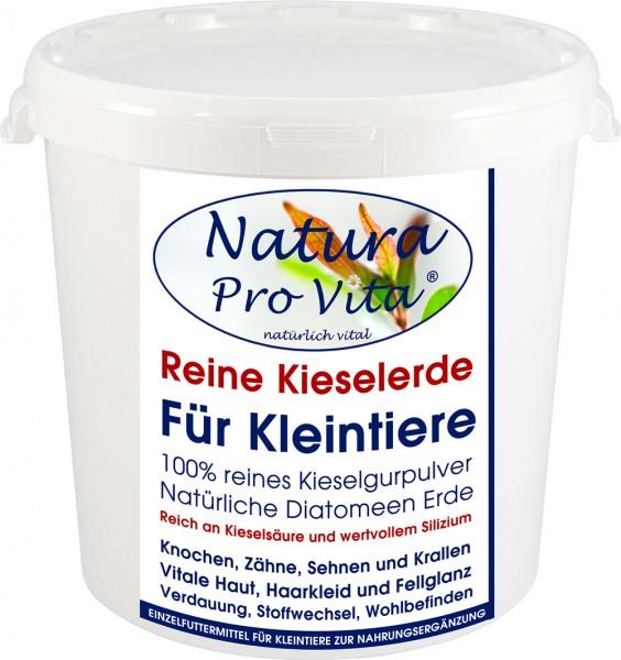 Kieselerde, reine Kieselgur, Siliziumkur für Kaninchen, Meerschweinchen, Hamster, Ratte, Maus 500g